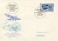 Ersttagsbrief Schweiz MiNr. 780 - Pro-Aero-Gedenkpostflüge (2)