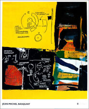 Jean Michel BASQUIAT Untitled Offset Lithograph 47-1/4 x 38-1/2