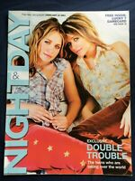 MARY-KATE ASHLEY OLSEN TWINS UK magazine 2002 Russell Crowe Camilla Rutherford