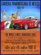 Messico RACE, Retrò Segno di alluminio metallo vintage garage rimessa uomo grotta muro