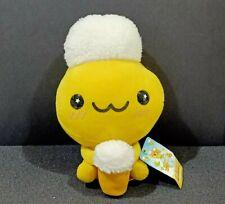 "San-X Beer Chan Plush Doll Toy Holding Beer Mug Japan 7.5"" TAG"