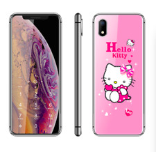 "Ultra-thin Luxury Cute Hello Kitty Girl Phone 2.4"" Cartoon Mobile Phone Unlocked"