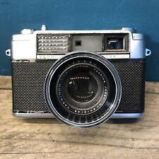 Yashica Lynx-1000 RangeFinder Camera with Yashinon 45mm f1.8 Lens Vintage Lomo!
