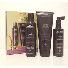 Aveda New Avanced Invati  3-step System to reduce hair loss