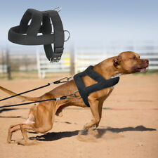 Strong K9 Dog Weight Pulling Harness Heavy Duty Training Vest Adjustable Pitbull