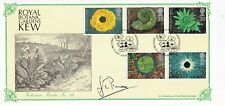 More details for 14 march 1995 springtime bradbury signed gt prance first day cover kew shs