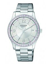 CITIZEN EV0040-59A Ladies Crystal Watch WR50m NEW RRP $249.00