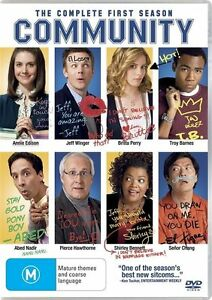 Community : Season 1 (DVD, 2010, 4-Disc Set)*R4*Terrific Condition*