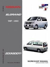 Nissan Elgrand E50 ZD30DDTi1997-2002 Workshop Manual