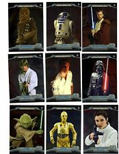Star Wars Chrome Perspectives Complete 100 card base set + wraper.