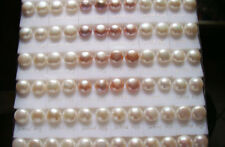 Lots 100Pair 10mm Mixed Colors Freshwater Pearl Earring