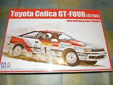 Aoshima 1/24 Toyota Celica GT-Four (ST165) 1989 Australia Rally Model Car Kit