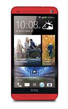 HTC One M7 - 32 GB - Red (Unlocked) Smartphone