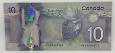 Canadian 2013 $10 Radar Note Frontiers issue Serial # FEZ2663662