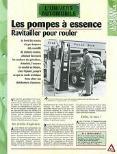 Pompes à Essence Esso Filling Station-Services Esso Carburants Auto FICHE FRANCE