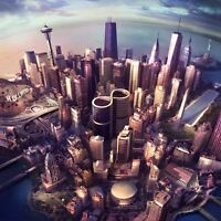 "Reproduction ""Foo Fighters - Sonic Highways"",  Album Poster, Size: 16"" x 16"""