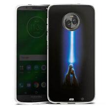 Lenovo MOTO g6 PLUS IN SILICONE GUSCIO Case Cellulare-Jedi Lightsaber