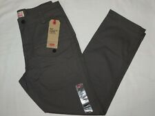 Levis 541 Athletic Taper Tac Cargo Pants Stretch Multiple Pockets Dark Gull Gray