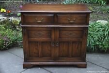 A BEVAN FUNNELL OAK DRESSER BASE SIDEBOARD PHONE LAMP HALL TABLE STAND CABINET