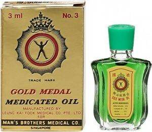 Gold Medal Medicated Oil 3ml For Cough, Cold, Headache, Muscle Pain