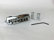 Non Rocking Chrome Bridge for Fender Jazzmaster Jaguar Mustang Offset Guitars