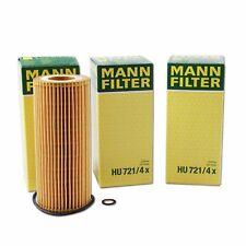 3 x Oil Filters HU721/4X BMW E90 E60 E53 E70 E83 Diesel 1142778846