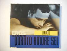 EROS RAMAZZOTTI : QUANTO AMORE SEI ♦ CD SINGLE ITALIE PORT GRATUIT ♦