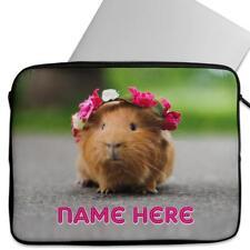 Personalised Laptop Cover GUINNEA PIG PET Neoprene Sleeve Case Universal KS11