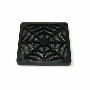 EverCool 80mm Black Plastic Fan Filter( FGP-80)