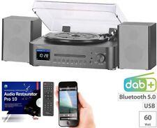 auvisio Digitale HiFi-Anlage & Digitalisierer,Internet-& DAB+Radio,Software