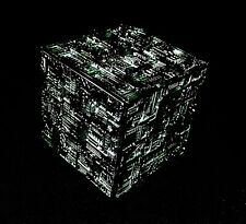 STAR TREK Micro Machines - BORG CUBE silver/black- Kubus Voyager tng ds9 IX