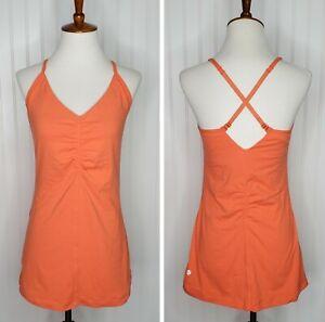Lululemon Crossback Tank Top Women's Size 10 Orange