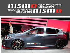 """A Pair Luxury White Nismo Motorsports Car Door Stickers Side Decal For 35.43"""""""