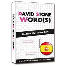 David Stone Words - Spanish Edition Mentalism Magic Tricks Book Test