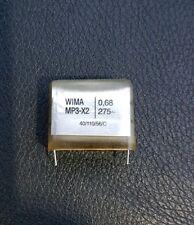 Potencia Condensador WIMA MPW-X2 0.68uf Microfaradios 680nf nanofarad 275v