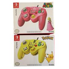 Nintendo Switch Game Cube Controller Pikachu & Peach Set New Unopend