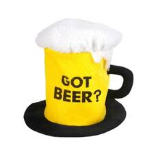 "12"" NOVELTY GIANT BEER PINT MUG DRINK HAT - JOKE FANCY DRESS PARTY ACCESSORY"