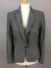 Women's REISS Grey Fitted Blazer Jacket. UK 10, USA 6.