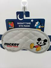 Embroidered Mickey Mouse Disney Sleep team Eye Mask red unlimited vintage grey