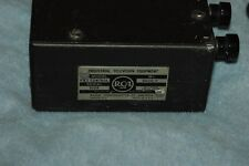RARE CONTROL BOX/POWER SUPPLY FOR 1950s RCA VIDICON CAMERA P & T MOUNT! ITV-1 ?