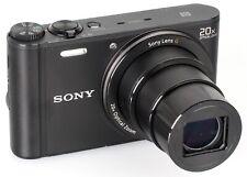 Sony Cyber-Shot dsc-wx350 18.2mp Digitalkamera-Schwarz