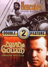 Hercules / David and Goliath (Double Feature) New DVD WORLD SHIP AVAIL