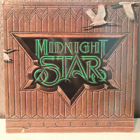 "MIDNIGHT STAR - Victory - 12"" Vinyl Record LP - VG+"