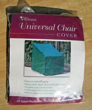 "New Green Universal Waterproof Seasonal OUTDOOR Patio CHAIR COVER 27""x34""x33"""