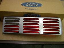 NOS OEM Ford 1987 - 1993 Mustang GT Tail Light Lens Silver RH 1988 1989 1990