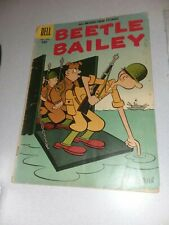 Beetle Bailey #8 dell comics Early Silver Age  1957 mort walker art comedy strip