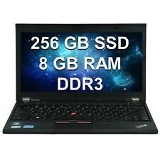 Lenovo ThinkPad X230 12,5 Zoll Notebook i5 3. Gen 8GB RAM 256GB SSD Win 7 Pro +D