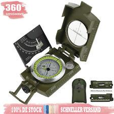 Kompass Metallgehäuse Bundeswehr Marschkompass Taschenkompass Geschenkidee IP65