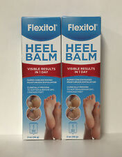 (2) Flexitol Heel Balm Super Concentrated Moisturizer For Dry/Cracked Feet-2oz.