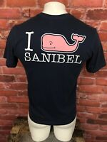 Vineyard Vines Sanibel Florida Blue Whale Pocket T-Shirt Mens XS -F36